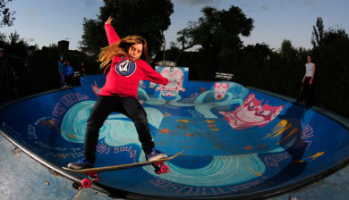 Coco Cianciarulo Skater Girl from Argentina
