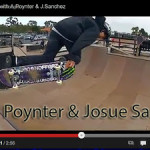 Austin Poynter and Josue Sanchez on a Mini Ramp