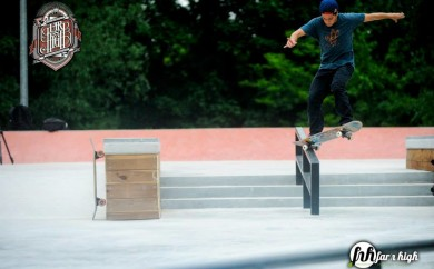 Far-N-High Paris France International Skateboarding Contest Livestream