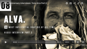 Tony Alva Interview with TWS