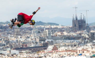 Mitchie Brusco X Games Barcelona 2013 1080 Big Air