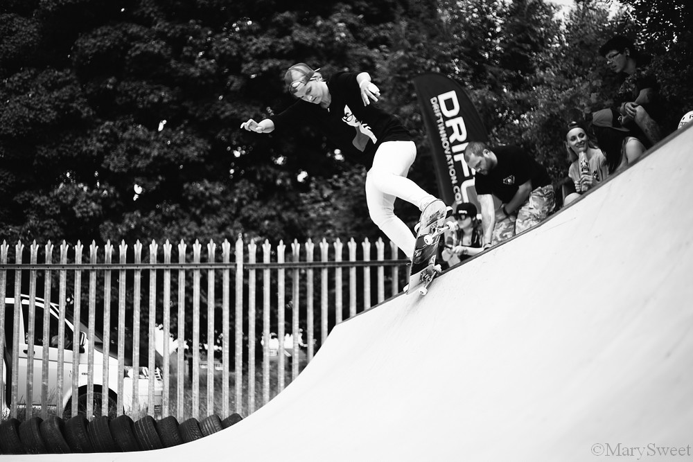 Julia Brueckler - Fs five O to fakie