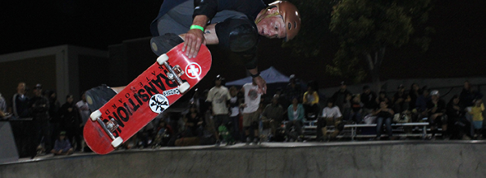 OG Old Guys Skateboard contest The Cove Santa Monica 2013 George Watanabe