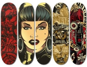 David Vicente Skateboards