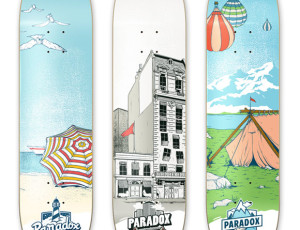 Paradox Skateboard decks