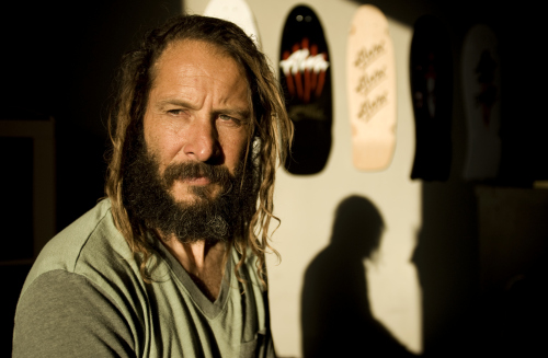 Tony Alva talks about his original painted skateboard decks as told to Seb Carayol