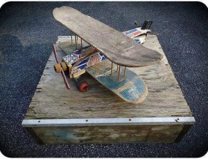 Flying Skateboard deck